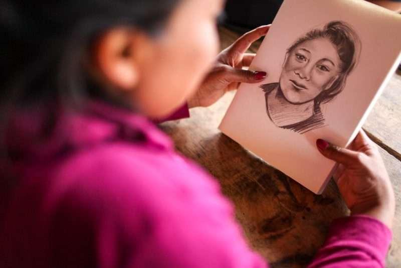 Un retrato hablado de Rosa María Saquic Lares, la niña desaparecida y hallada muerta en Joyabaj.