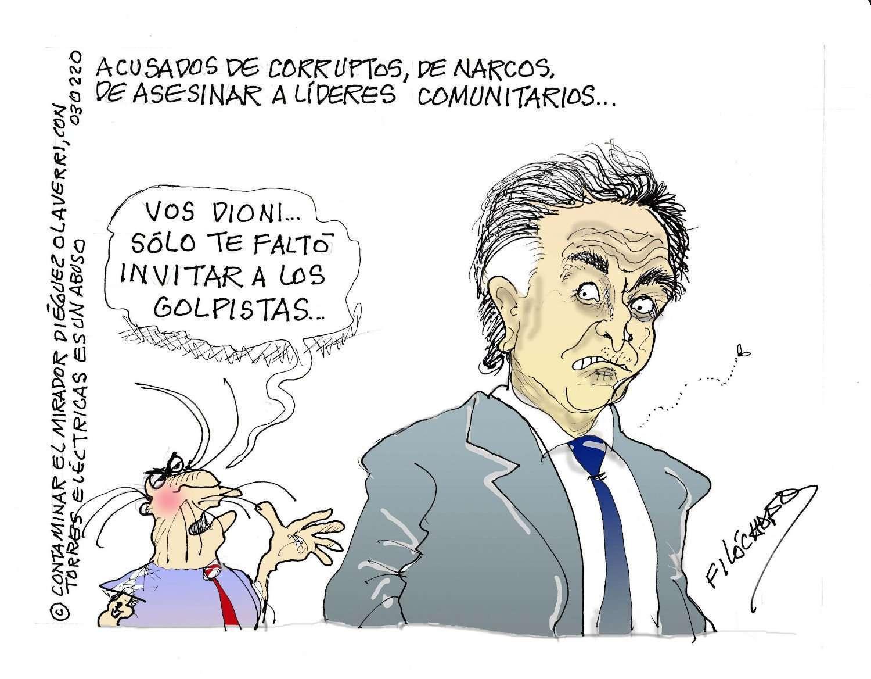 Filóchofo: acusados de corruptos, de narcos de asesinar a líderes comunitarios…