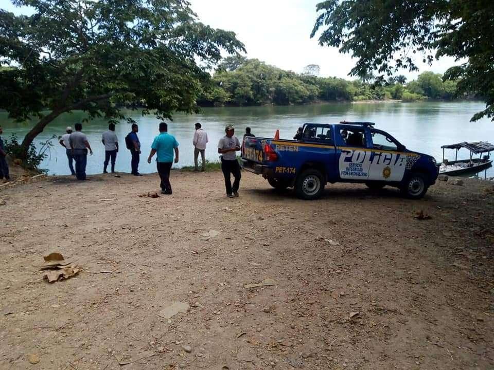 Río Salinas, frontera de Guatemala con México.