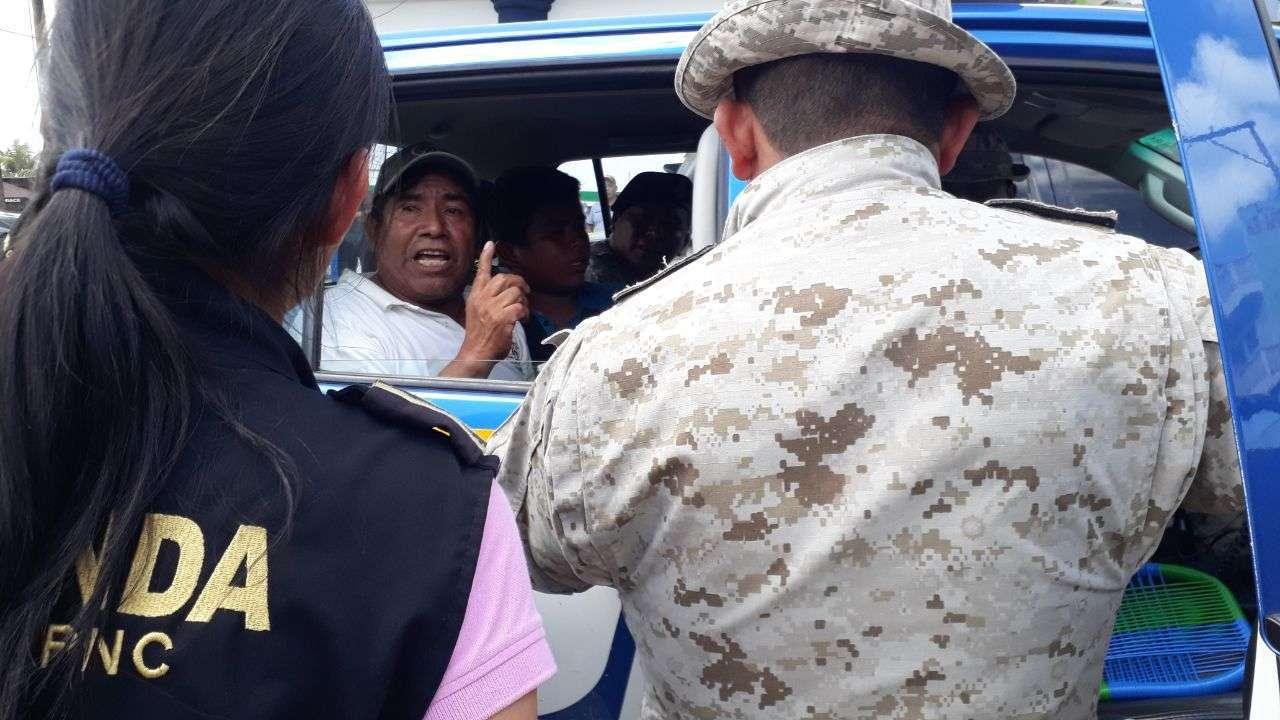 Líder comunitario Prudencio Ramirez Pablo.