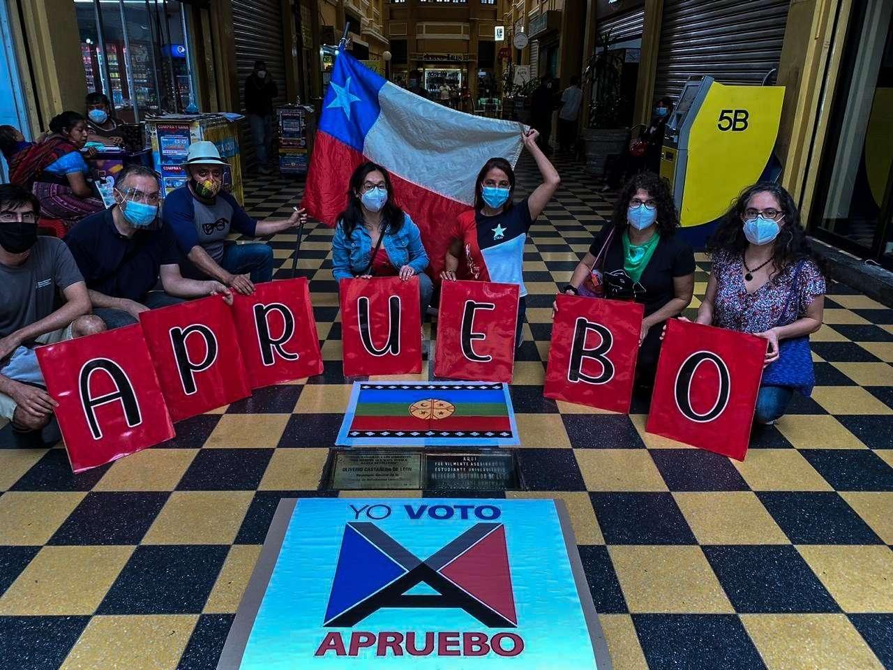 Colectivo chileno en Guatemala.