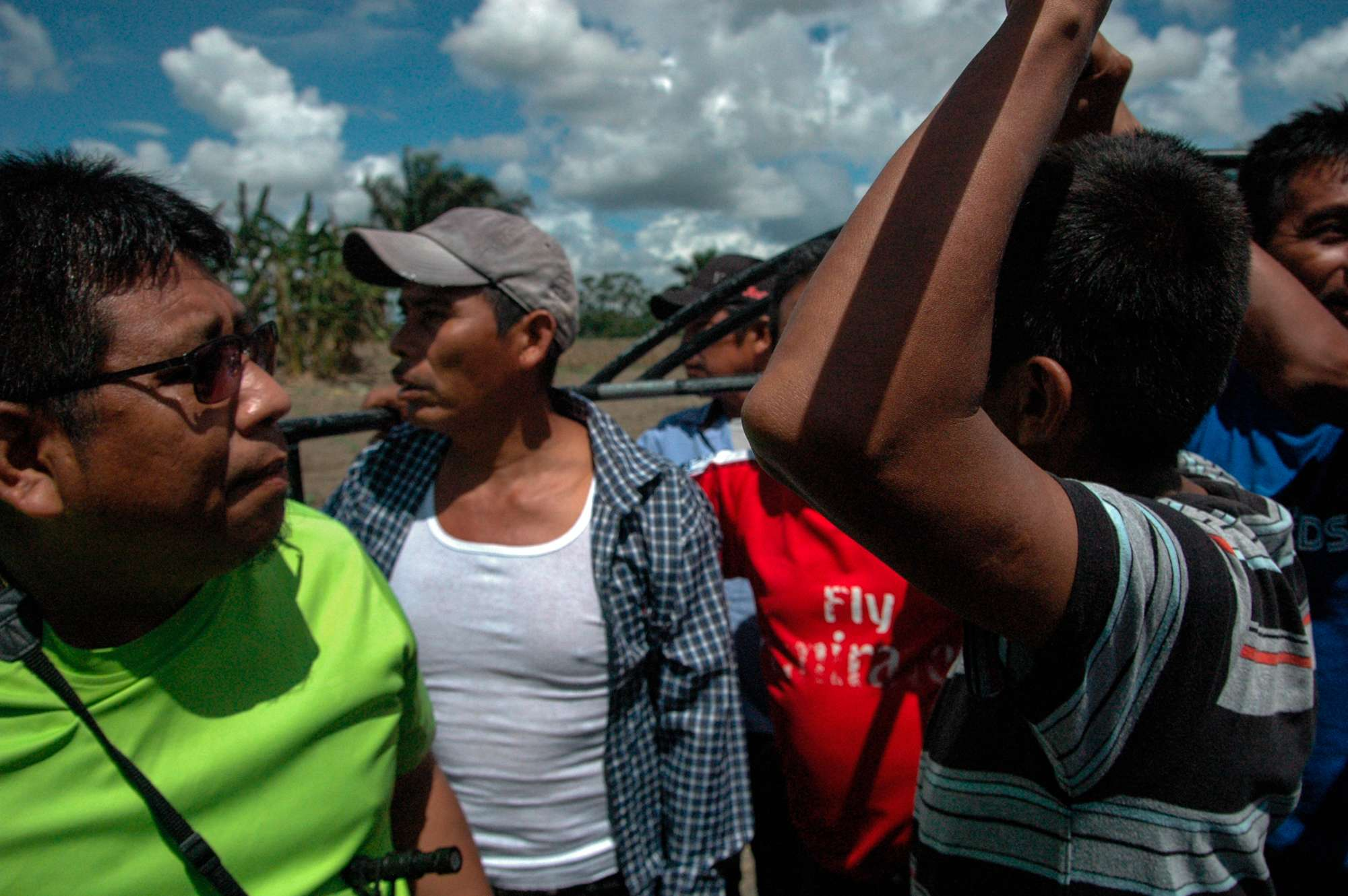 Comunidad El Mollejón en Sayaxchpe, Petén. Foto Nelton Rivera