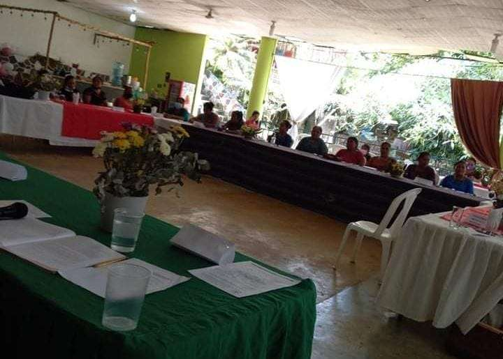 Actividad del día de la mujer indígena en la Municipalidad de Ixcán.